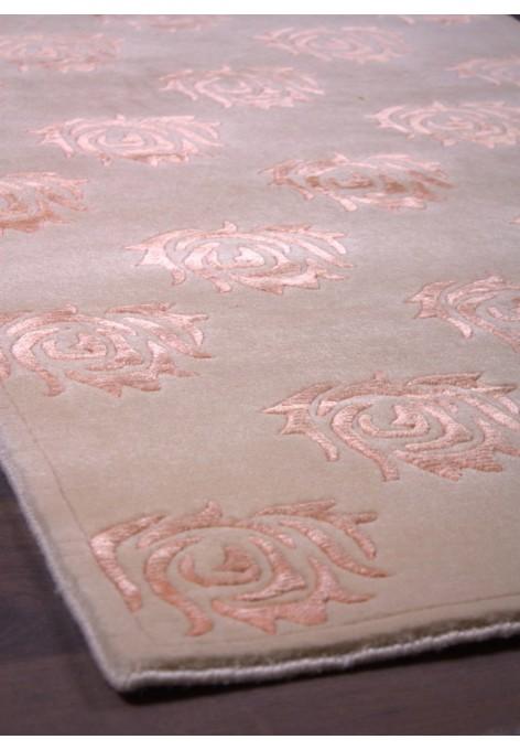 PAL-wool&silk-82x151_orange artichokes_beige